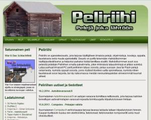 Peliriihi.com kuvankaappaus