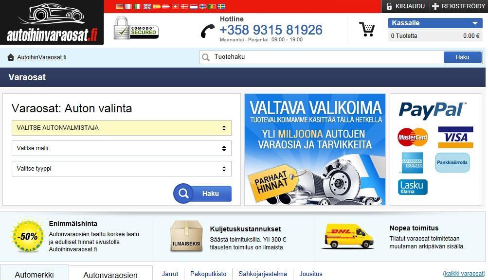 AutoihinVaraosat.fi